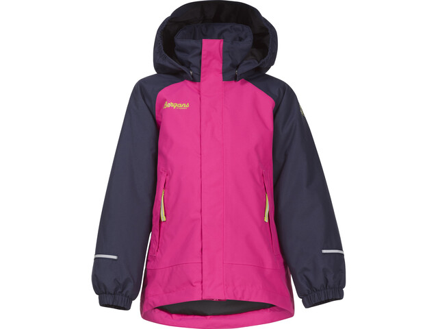 Bergans Storm Insulated Jacket Barn navy/hot pink/lime